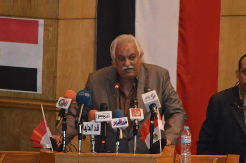 محمد سالم مراد، رئيس النقابة العامة لعمال الزراعة والرى