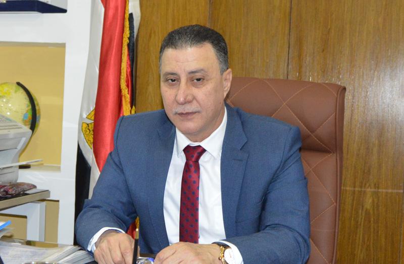 هشام فاروق المهيرى، رئيس النقابة العامة للخدمات الادارية والاجتماعية