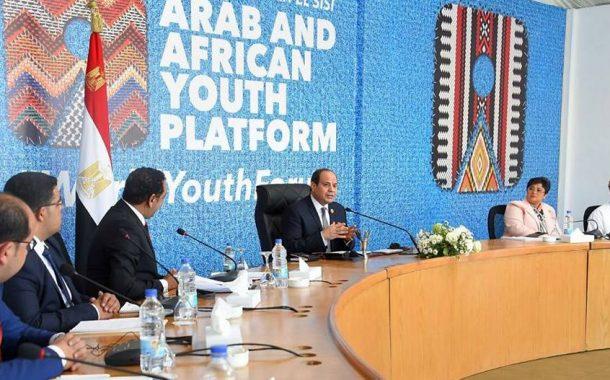 الرئيس السيسي: مصر لديها مناطق صناعية مؤهلة لجذب الاستثمار
