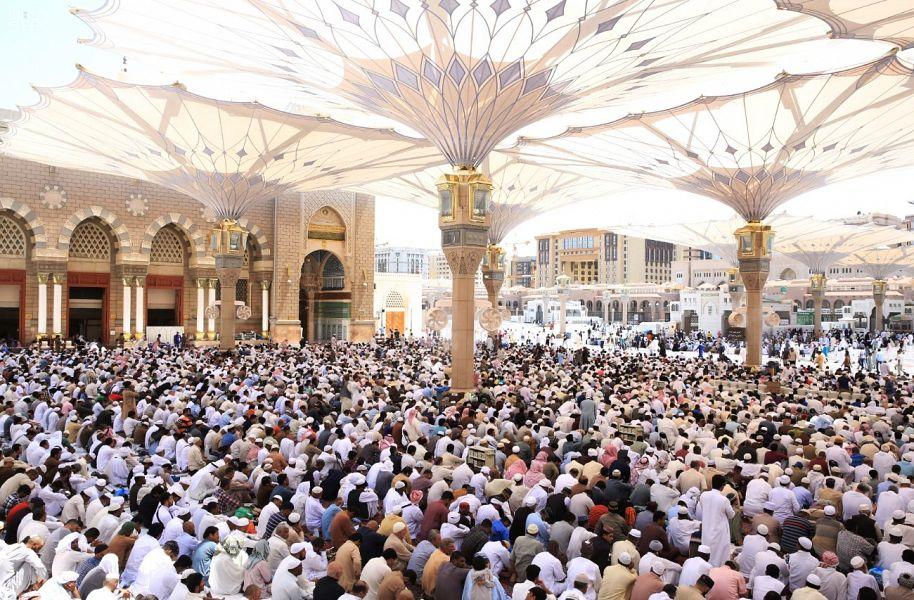 تفاصيل خطبتا الجمعة من المسجد الحرام والمسجد النبوي
