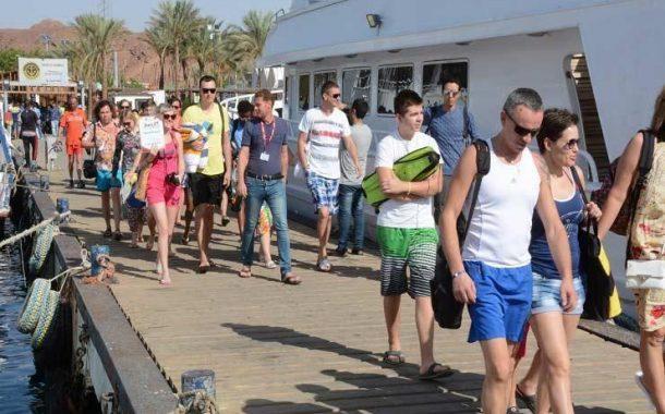 47.5% ارتفاعا فى أعداد السياح الوافدين إلى مصر