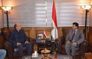 وزير الشباب والرياضة يستقبل رئيس الاتحاد الدولي للصحافة الرياضية