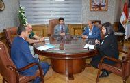 وزير الرياضة يستقبل مسئولي مشروع رعاية الموهوبين  TOP TALENTS