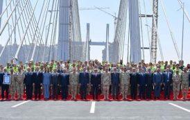 أعرض جسر فى العالم بمصر يدخل موسوعة غينيس – يربط بين البحرين المتوسط والأحمر