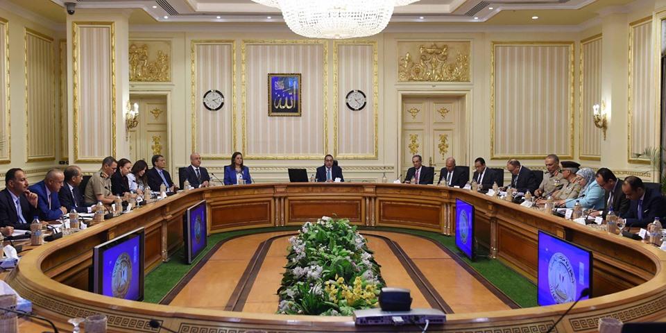 اجتماع لمجلس الوزراء للوقوف على الموقف التنفيذي لمشروعات العاصمة الإدارية