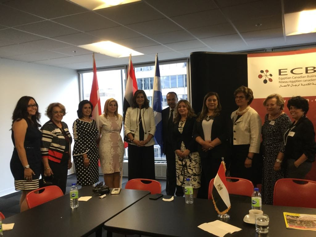 """انطلاق """"رابطة المراة المصرية الكندية"""" تحت رعاية وزارة الهجرة"""