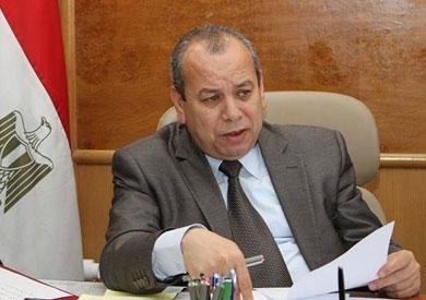 """""""عبد الحميد طه"""" يوجه بتكثيف الحملات على بحيرة البرلس للحفاظ على الثروة السمكية"""