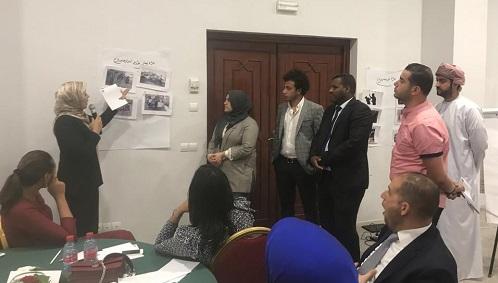 منظمة المراة العربية تختتم حوار الشباب العربى بالمغرب