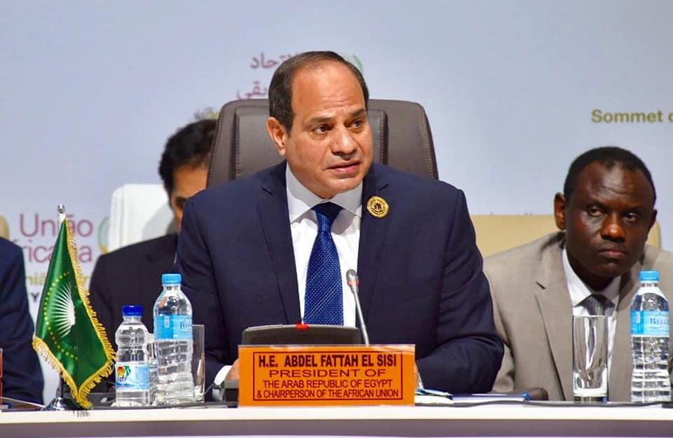 الرئيس السيسى يترأس اعمال القمة الاستثنائية للاتحاد الافريقى