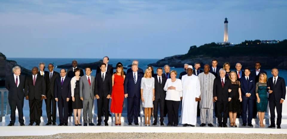 فيديو: نشاط السيد الرئيس خلال قمة مجموعة السبع G7 في فرنسا