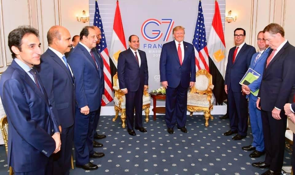 ماذا قال الرئيس السيسى عن لقاءه بالرئيس الامريكى صباح اليوم