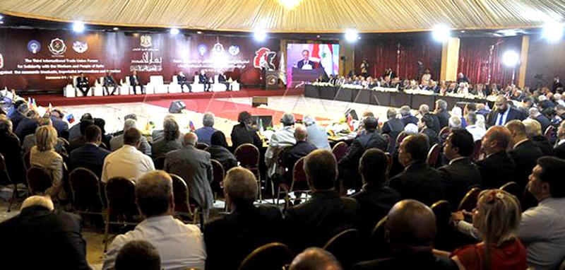 رئيس وزراء سوريا يشيد بدور الطبقة العاملة فى مواجهة الارهاب
