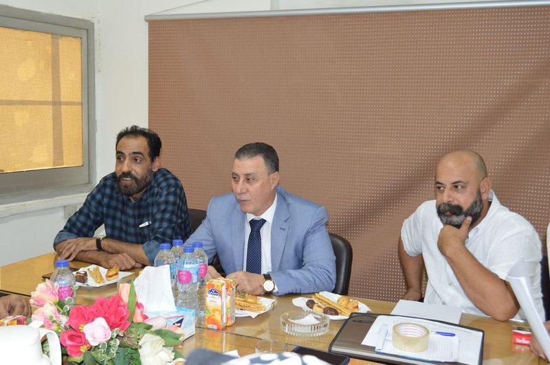 توجيهات الرئيس السيسى .. محور مناقشة اجتماع القيادات العمالية