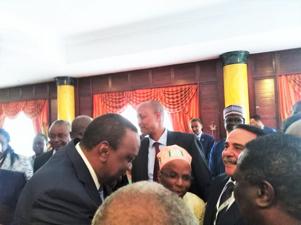 الرئيس الكينى امام مؤتمر عمال افريقيا .. نتطلع لدوركم في توفير الرفاهية لشعوب القارة