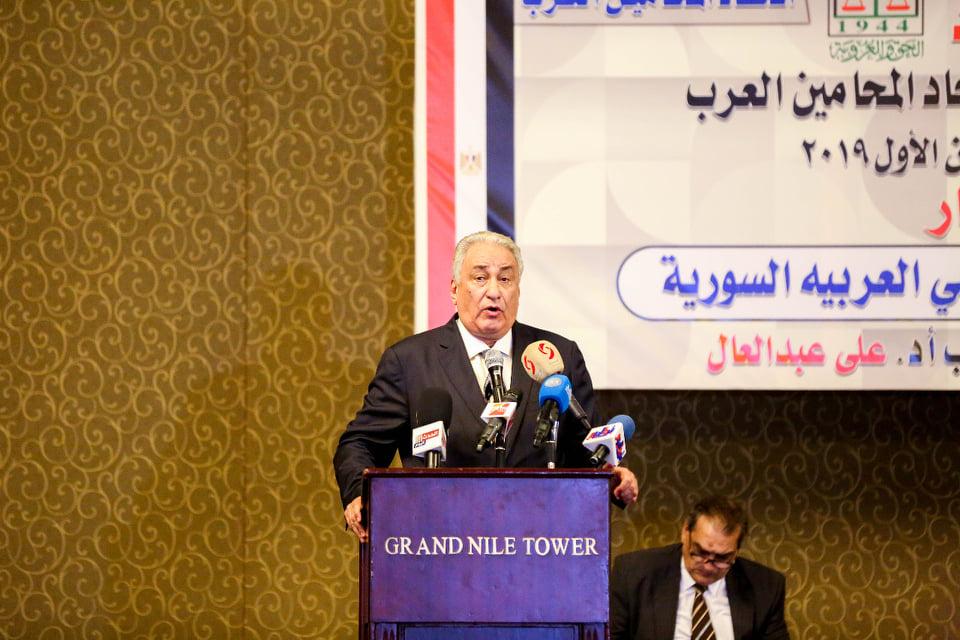 البيان الختامى لاتحاد المحامين العرب الذى عقد امس بالقاهرة