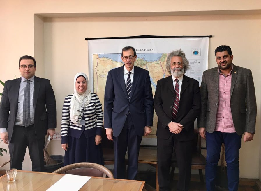 نقيب الأطباء يلتقى مساعد وزير الخارجية للشئون القنصلية لبحث سبل التعاون بين النقابة ووزارة الخارجية
