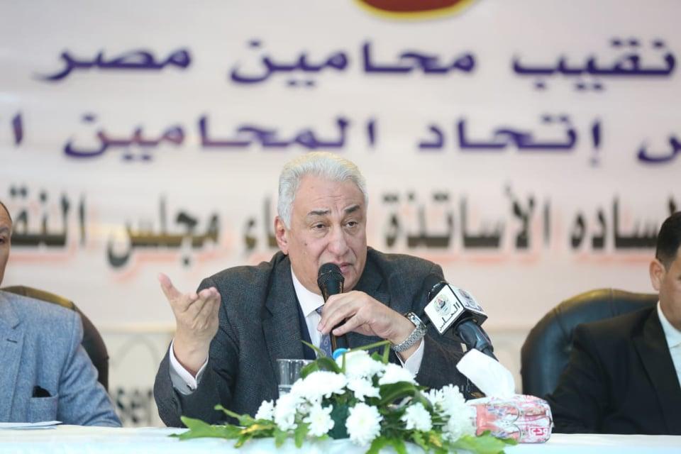 نقيب المحامين: الدولة المصرية قادرة على مواجهة خطر التواجد التركي في ليبيا