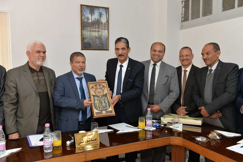 زيارة ناجحة لوفد المرافق العامة للجزائر