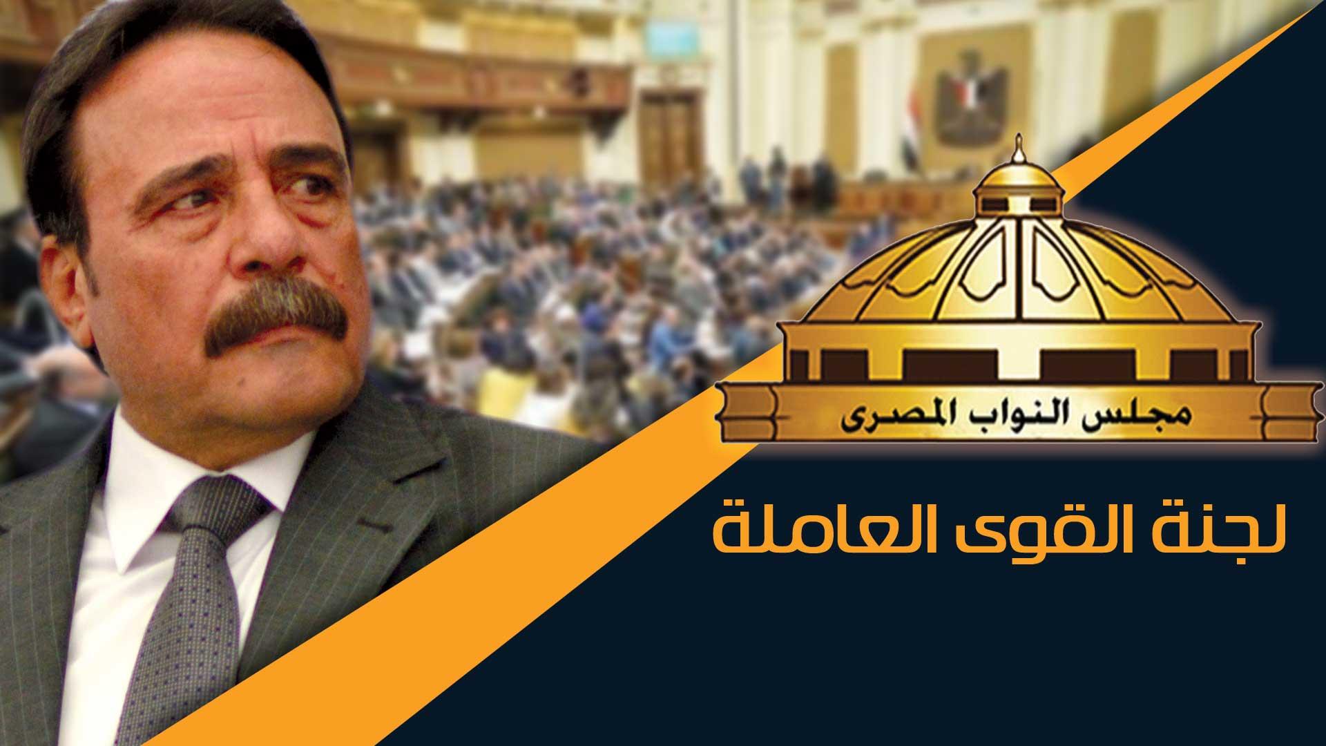 نشرة اخبار لجنة القوى العاملة بمجلس النواب