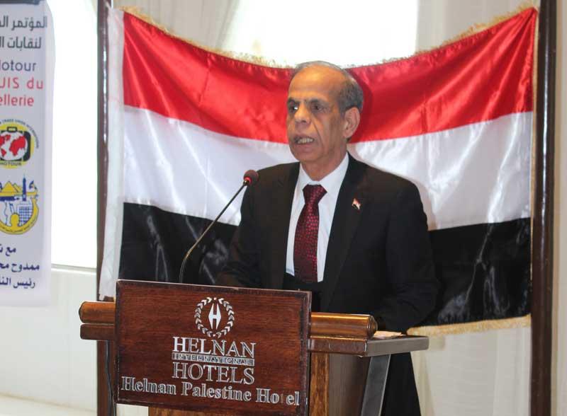 المحمدى: الاتحاد الدولى لعمال السياحة يقف بكل وضوح الى جانب الطبقة العاملة ويدعم عمال القطاع على مستوى العالم
