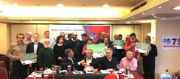 """العالمى للنقابات: اجتماع أوروبي تحت شعار """"من أجل حركة نقابية أوروبية منسقة ونضالية وأممية"""""""