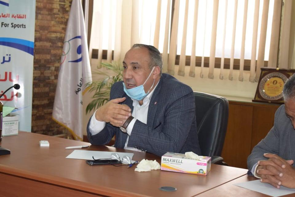 دكتور فتحى ندا رئيس نقابة المهن الرياضية