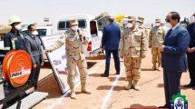 الرئيس السيسى يتفقد استعدادات القوات المسلحة
