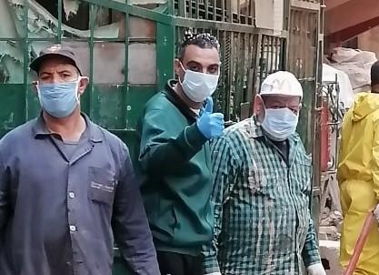 شباب عمال القليوبية: بهتيم آمنة وليست منطقة وباء بجهود ووعى شبابها
